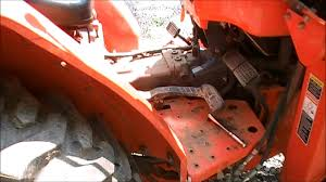 kubota e brake alarm mod youtube