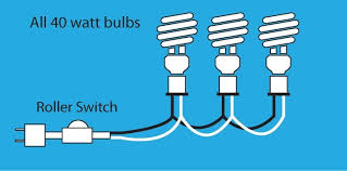 how to wire a l with multiple bulbs a 3 bulb l