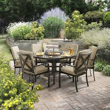 outdoor table ls battery operated jamie oliver 6 seater grilling garden furniture set 1266 5
