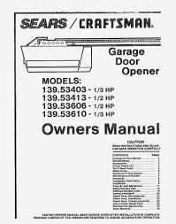 sears craftsman 12 hp garage door opener inside 1 2 hp wiring