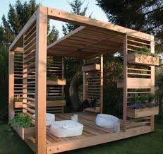Wooden Screen Gazebos by Landscaping And Outdoor Building Elegant Modern Gazebo Wooden