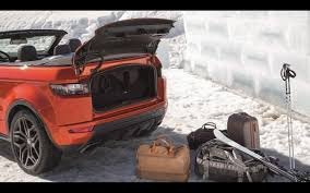 2016 range rover wallpaper 2016 land rover range rover evoque convertible trunk 3