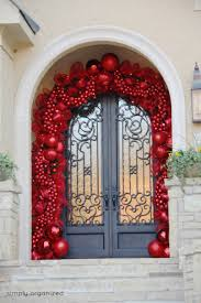 House Doors Decoration Door Ideas Front Door Christmas Decorations Front