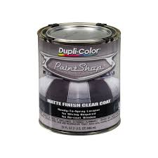 dupli color bsp307 32 oz matte paint shop clear coat