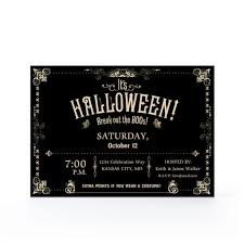 Halloween Birthday Party Invitations Templates by Housewarming Party Invitations Template Halloween Housewarming