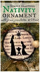 25 unique nativity ornaments ideas on