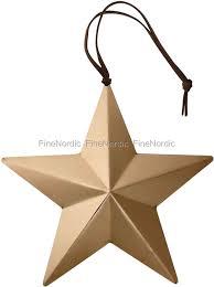 krus ornament bloomingville ornament copper small