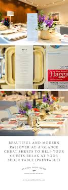 modern passover haggadah beautiful and modern passover at a glance sheets to help