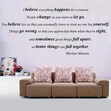 Marilyn Monroe Wall Decor Wall Decal Inspirative Marilyn Monroe Quotes Wall Decals Marilyn