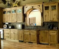 reclaimed wood cabinet doors rustic wooden kitchen cabinet
