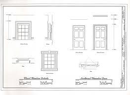 Floor Plan Detail Drawing Heritage Documentation Programs Habs Haer Hals Crgis Of The