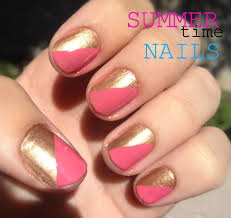 nail art tutorial summer duo
