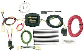 amazon com hopkins 43445 vehicle to trailer wiring kit for toyota