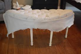 diy tufted bench images on terrific tufted bench ottoman cushion