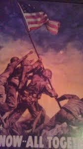 Iwo Jima Flag Raising Staged Iwo Jima Battle On Pinterest Iwo Jima Flag Iwo Jima And Joe