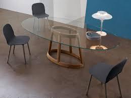 tavoli design cristallo greeny tavolo in cristallo by bonaldo design gino carollo