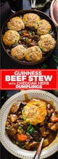 guinness beef stew with cheddar herb dumplings host the toast