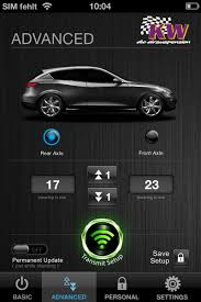 new kw the new kw dlc app for cars with standard air suspension