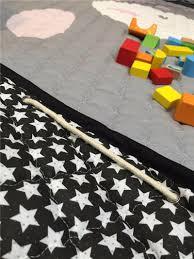 Rugs For Children Beddingoutlet Lamb Round Mat Gray Cartoon Printed Rug For Kids