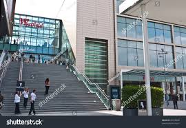 londonukseptember 13 entrance westfield stratford city stock photo