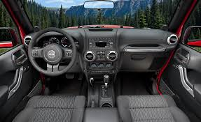 jeep crossover interior jeep wrangler review and photos