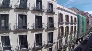 apartment with balcony 1 bedroom apartment with balcony for rent in madrid city centre