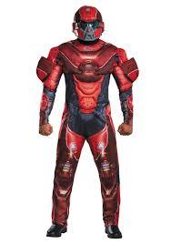 Samurai Halloween Costume Red Spartan Muscle Chest Costume