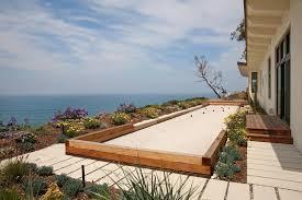 exterior design appealing backyard design with horseshoe pit