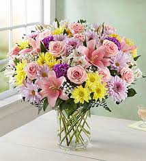 pink bouquet expressions of pink 1800flowers 105015