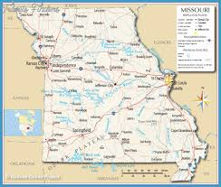 map of missouri missouri subway map travelsfinders