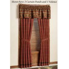Curtain Drapes Rustic Curtains And Drapes Decorate The House With Beautiful
