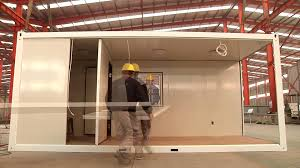 20ft flatpack container house youtube
