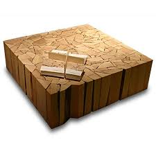 HOME DZINE Craft Ideas Oneofakind Coffee Tables From - Simple coffee table designs