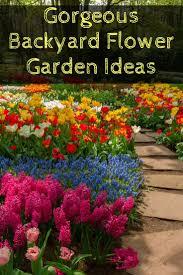 Pretty Flower Garden Ideas Beautiful Backyard Flower Gardens