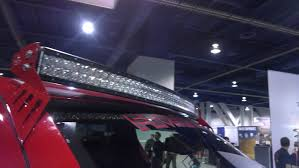 Led Blue Light Bar by The Next Big Thing Curved Led Light Bars Better Automotive Lighting