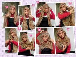 tutorial pashmina dian pelangi tutorial hijab kreasi pashmina dian pelangi cara memakai jilbab