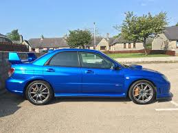 impreza subaru 2006 used 2006 subaru impreza sti wrx sti type uk for sale in