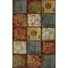 Rugs With Teal 5 X 8 Area Rugs Rugs The Home Depot