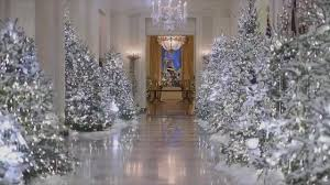 donald trump white house decor melania trump criticized over u0027cold and creepy u0027 white house