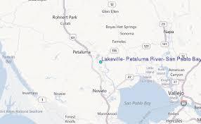 petaluma ca map lakeville petaluma river san pablo bay california tide station