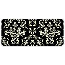 Damask Kitchen Rug Buy Cushioned Mats For Standing From Bed Bath Beyond