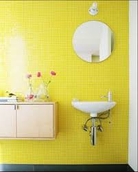 Yellow Tile Bathroom Paint Colors by Inspiration Yellow Mosaic Bathroom Tiles About Interior Home Paint