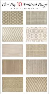 Pottery Barn Coral Rug by The Top 10 Neutral Rugs That Aren U0027t Sisal Or Jute Laura Jayson
