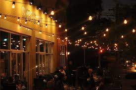 Outdoor Patio String Lights Busboys And Poets In Hyattsville Recently Added Some Globe String