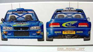 subaru wrc subaru impreza wrc 99 tamiya car model kit com