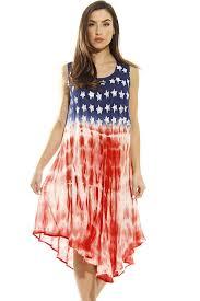 Flag Dress Women U0027s Patriotic Usa American Flag Long Maxi Dress At Amazon