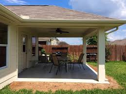 cost of a building how much does it cost to build a patio in houston texas