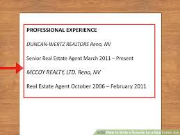 real estate resume commercial real estate portfolio manager