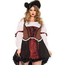 ruthless pirate wench plus size halloween costume plus costumes