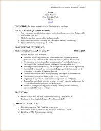 resume administrative assistant objective resume administrative
